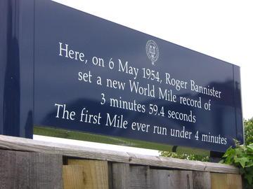 Iffley Road Sign
